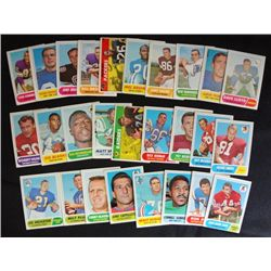 75 different 1968 Football cards ex or better many nmnt cards GREAT START TO A