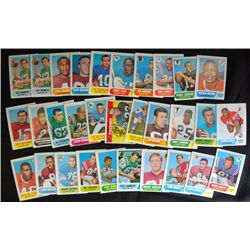 61 different 1968 Football cards ex or better many nmnt cards GREAT START TO A