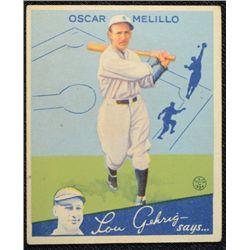 1934 Goudey baseball card #45  MELILLO   VGEX   Book value $120