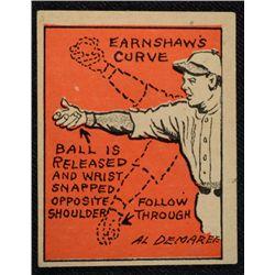 Schutter-Johnson Candy Co. Major League Secrets baseball card #13  GEORGE