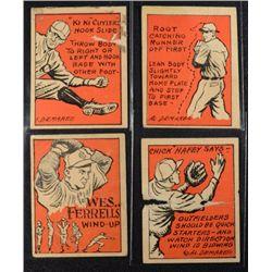 Schutter-Johnson Candy Co. Major League Secrets baseball card #5-21-29-44