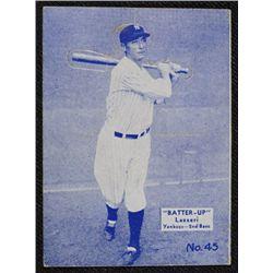 34/36 BATTERS UP baseball card #45   LAZZERI  EX+   BOOK VALUE $300