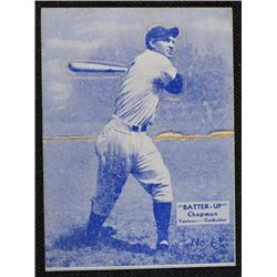 34/36 BATTERS UP baseball card #6   CHAPMAN  VGEX   BOOK VALUE $95