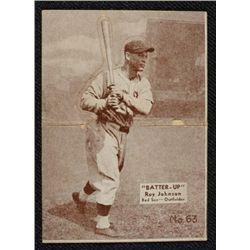 34/36 BATTERS UP baseball card #63   JOHNSON  EX   BOOK VALUE $95