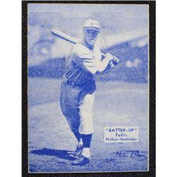 34/36 BATTERS UP baseball card #74   FULLIS EX   BOOK VALUE $95
