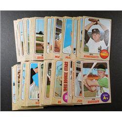 100 different 1968 topps baseball cards NICE STARTER SET  EX or better many