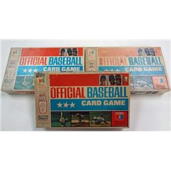 1-1970 MILTON BRADLEY COMPLETE BOXED CARD SETS