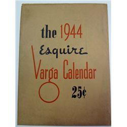 1944 A. VARGA CALENDER IN ORIGINAL MAILER BY ESQUIRE MAGAZINE