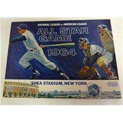 1964 ALL-STAR GAME PROGRAM