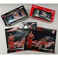 3-DIE CAST RACE CARS AUTOGRAPHED CRAVEN, MARK MARTIN, MUSGRAVE