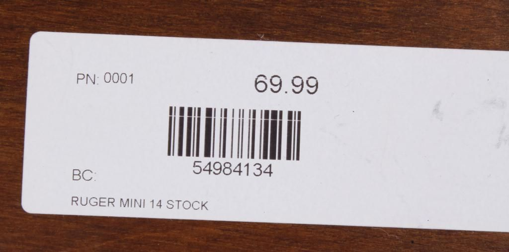 Lot of 4 Mini-14 Stocks