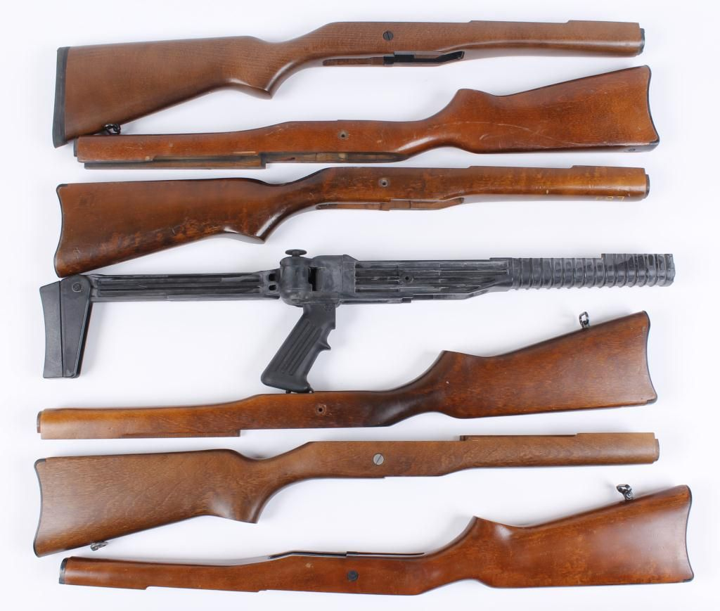Lot of 8 Ruger Mini-14 Stocks