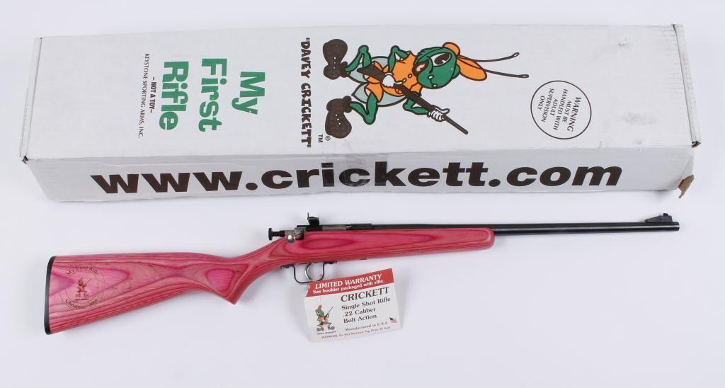Keystone Mdl Cricket Cal  22 SN:283368
