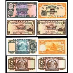 Chartered Bank and Hong Kong & Shanghai Banking Corp. Banknote Quartet.