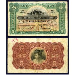 Mercantile Bank of India, 1936 Issue.