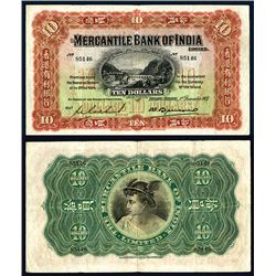 Mercantile Bank of India, 1937 Issue.