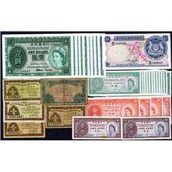 Hong Kong 1941-1960's Banknote Assortment.