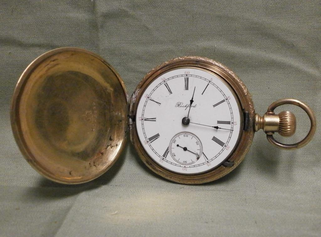 458ecd67d7d51 Vintage Rockford Pocket Watch - Parts Or Repair