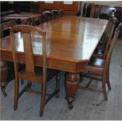 Super A Set Of Seven Early 20Th Century Queen Anne Style Oak Dailytribune Chair Design For Home Dailytribuneorg
