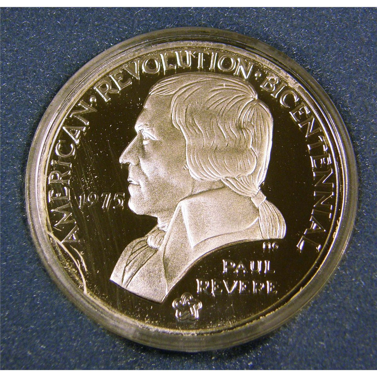 1975 Bicentennial Medal Commemorating Battles Of Lexington