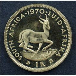 South Africa 1 Rand 1970