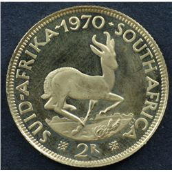South Africa 2 Rand 1970