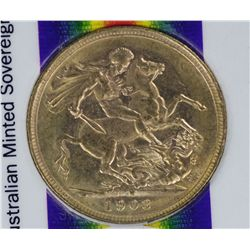 Australian Edward VII Sovereigns