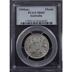1960M Florin PCGS MS65