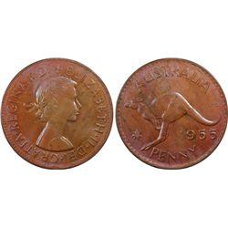 1955 P Penny PCGS MS63 BN