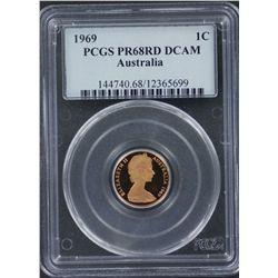 1969 Proof Set PCGS Graded