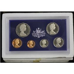 1983, 1977, 1982, 1983 and 1980 Proof Sets