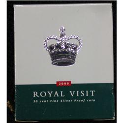 2000 Royal Visit 50 Cent