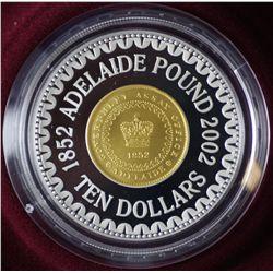 2002 Adelaide Pound $10