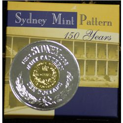 Bi-Metal $10 2003 Sydney Mint Pattern
