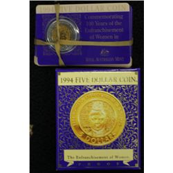 1994 $5 Proof (2) Uncirculated (8)