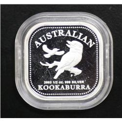 2003 Half Ounce Square Coin