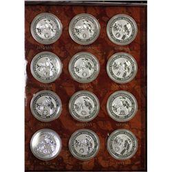 Millennium Calendar Series Privy Mark Collection