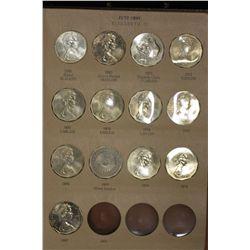 Decimal Coin Collection Dansco Supreme Album