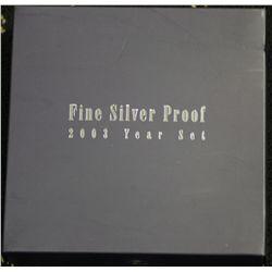 2003 Fine Silver Set