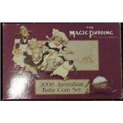 2006 Australian Baby Coin Set Proof