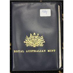 1969 Blue Wallet