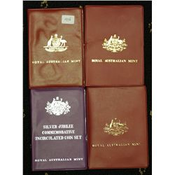 1975,76,77, 83 Mint Sets