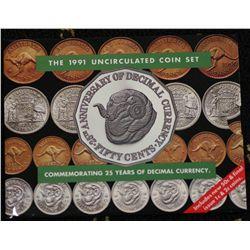 1991 Mint Sets x 5