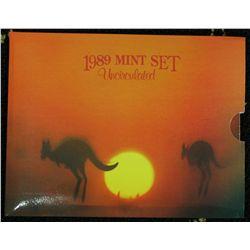 1989 Mint Sets x 5