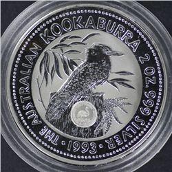 1993 2 oz privy NAA Coin Fair Brisbane