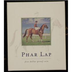 2000 $5 Proof, Phar Lap