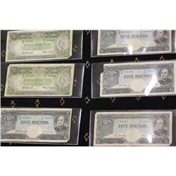 Australian Pre Decimal Bank Notes