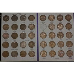 Australia Penny Set 1911 to 1964