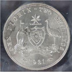 1931 Florin ACGS MS64