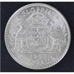Florins 1946, 1947, 1951